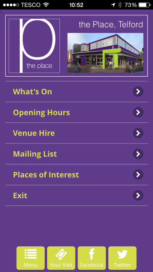 Download The New Oakengates Theatre App