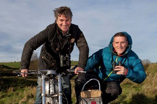Martin Hughes-Games & Iolo Williams
