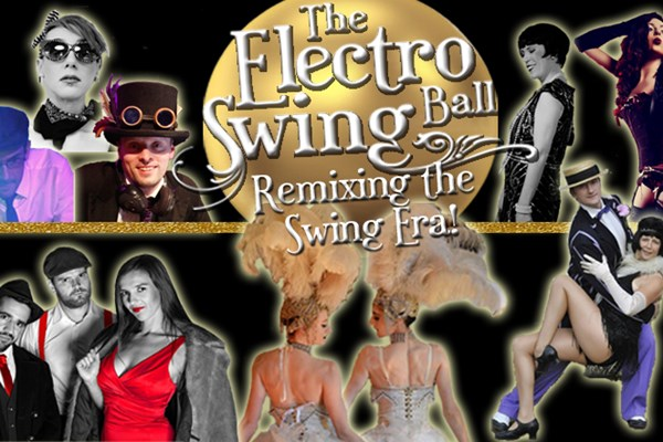 Electro Swing Ball Coach Ticket