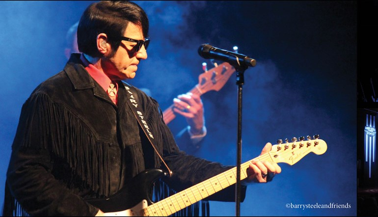 Barry Steele in The Roy Orbison Story