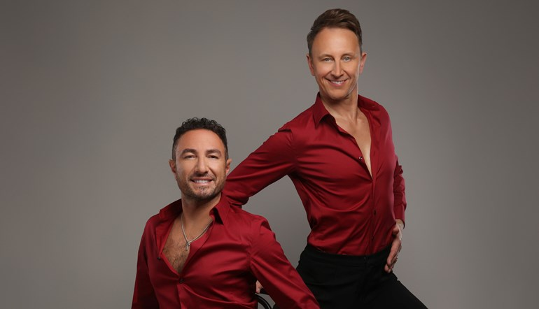 Ian Waite and Vincent Simone...Act Two